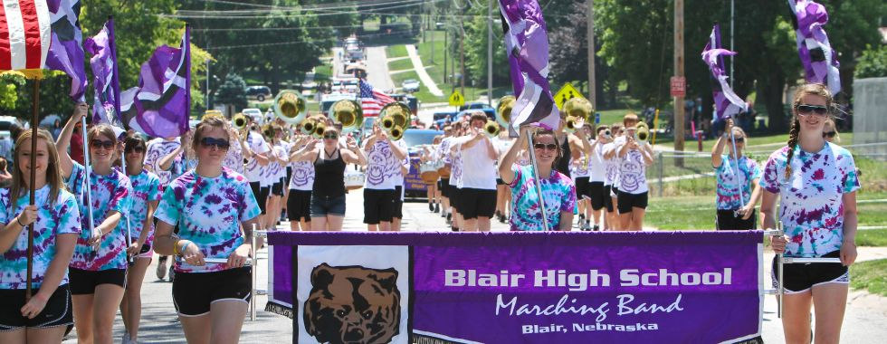 Blair High School Marching Band